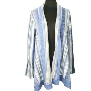Vintage America Waterfall Front Cardigan Sweater